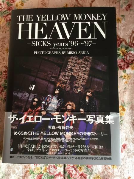 イエローモンキー HEAVEN 本 イエモン 写真集 DVD付き ライブグッズの画像