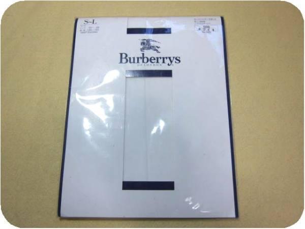 ∞ バーバリー Burberrys スーパーシアーサポート パンティストッキング ホワイト S-L∞  白福助×三陽商会