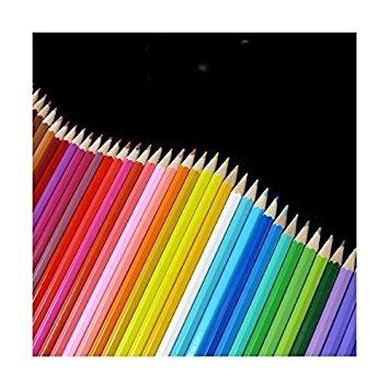 新品 50本色えんぴつ 塗り絵やスケッチ・お絵描きに! きれいな色味が勢揃い 50本色鉛筆_画像3