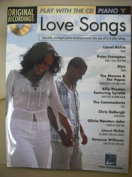 オリビアニュートンジョン  Love Songs VOLUME 7 CD付き