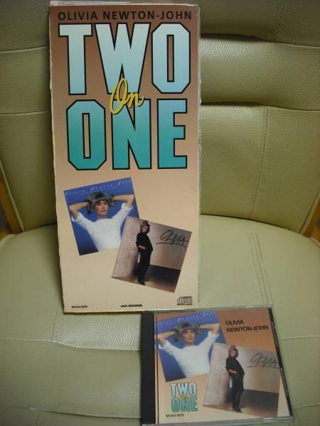 オリビアニュートンジョン  TWO On ONE ボックスタイプCD