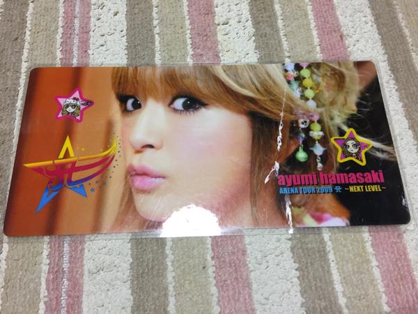 浜崎あゆみナンバープレート1 ライブグッズの画像