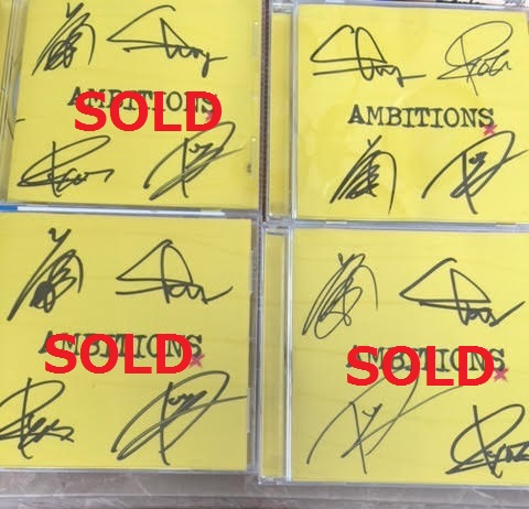 ★最後の1点! ONE OK ROCK 直筆サイン入り AMBITIONS CD *ワンオク TAKA