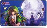 激レア!人気!ラバープレイマット ゼルダの伝説 ムジュラの仮面 3D ウルトラプロ サイズ約61×43cm リンク サプライ品