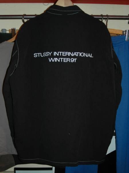 ユーズド 90年代 OLD STUSSY オールド ステューシー インターナショナル ジャケット_画像2