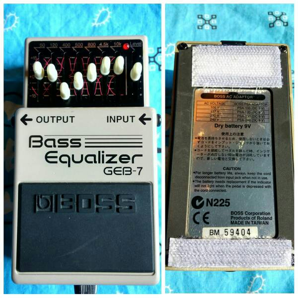 BOSS ベースイコライザーGEB-7 bass
