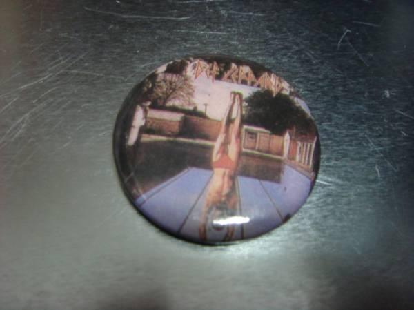 ビンテージ80's デッドストックDef Leppardデフ レパードHigh 'n' Dry缶バッチOLDオールド ピンズ