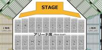 Sting スティング 6/7 日本武道館 アリーナ中央 A5〜A6ブロック 1〜20番 1〜2枚連番