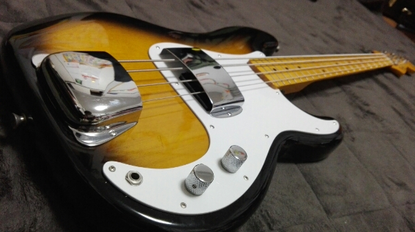Fender Japan Precision Bass PB57-US 2TS ソフトケース付