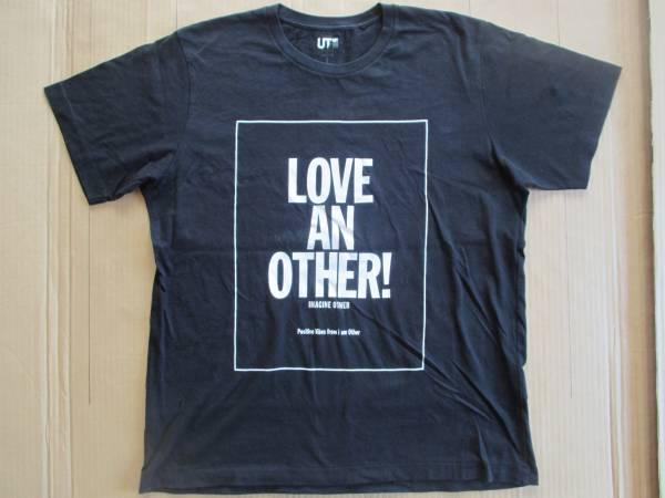 ファレル・ウィリアムス 半袖 ロゴ Tシャツ XL 黒 Pharrell Williams ユニクロ UT ブラック 二
