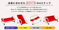 【中古】BSCR(サンデシカ) 4WAY仕様の成長するベビー