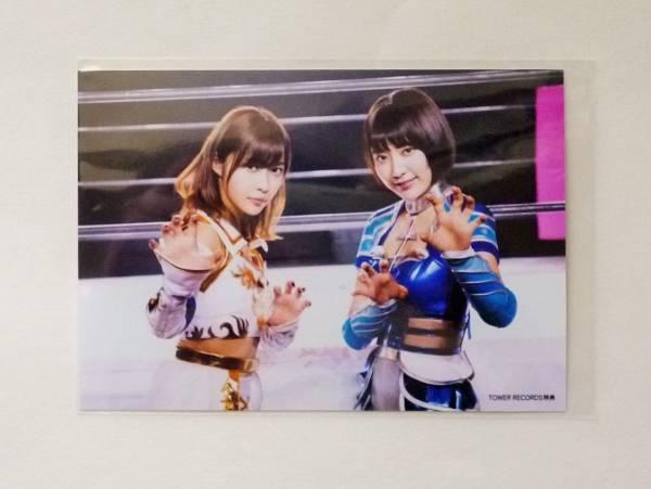 AKB48 福岡聖菜 シュートサイン 通常盤 生写真 タワレコ特典 指原莉乃 宮脇咲良_画像2