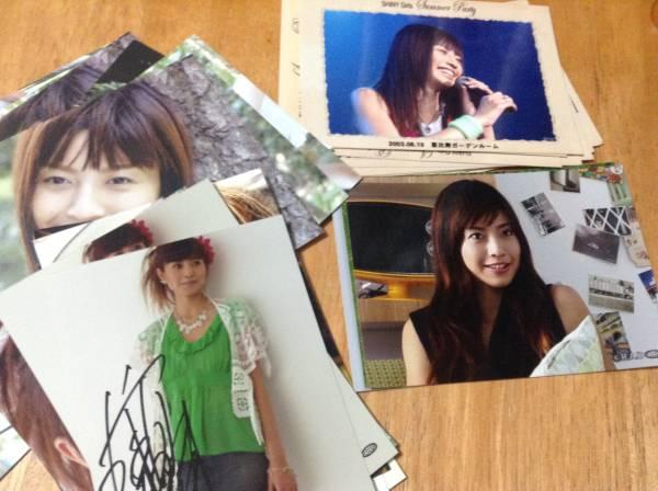 片瀬那奈 生写真 ポストカード 計35枚 一枚だけ本人サインつき 新品同様