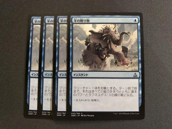 牙の贈り物 日本語 4枚セット_画像1