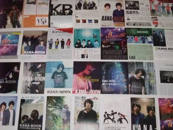 ◆KANA-BOON◆■■切り抜き 198ページ ライブグッズの画像