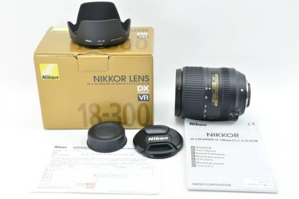 ニコン NIKON AF-S DX NIKKOR 18-300mm F3.5-6.3G ED VR #美品
