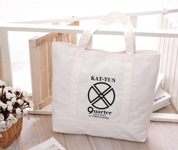 新品■ KAT-TUN 2015 quater Tokyo Dome 限定 トートバッグ 亀梨上田中丸赤西 田中 田口