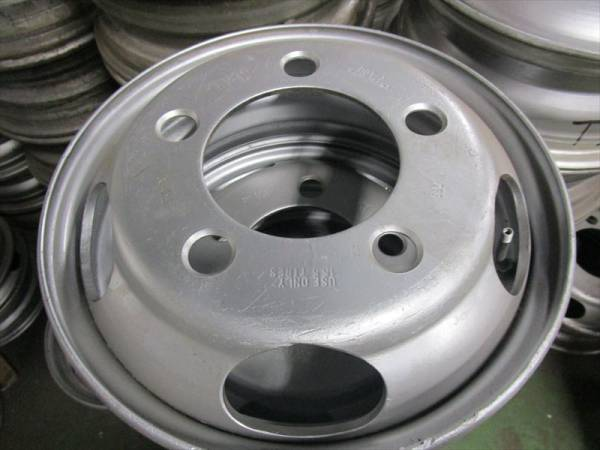いすゞ エルフ 2トン ダンプ等 TOPY DFR15.5×5.25 115-8 5穴 再塗装 6本セット_画像1