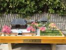 ☆京都東山 高台寺庭園の春 1/150自作ジオラマLEDライ