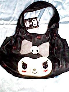 クロミ kuromi トートバッグ (リボン) バッグ 新品 鞄 サンリオ サンリオ 激レア 今では入手困難品 グッズの画像