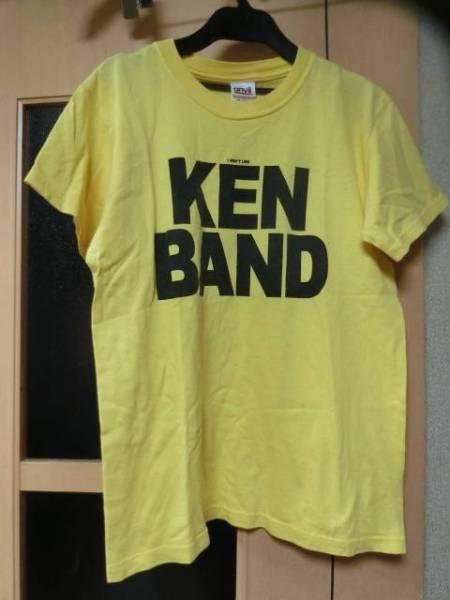 ケンヨコヤマKEN YOKOYAMAピザオブデスPIZZ OF DEATH廃盤KEN BAND限定Tシャツ黄色sizeYOUTH L(S)中古品 ライブグッズの画像