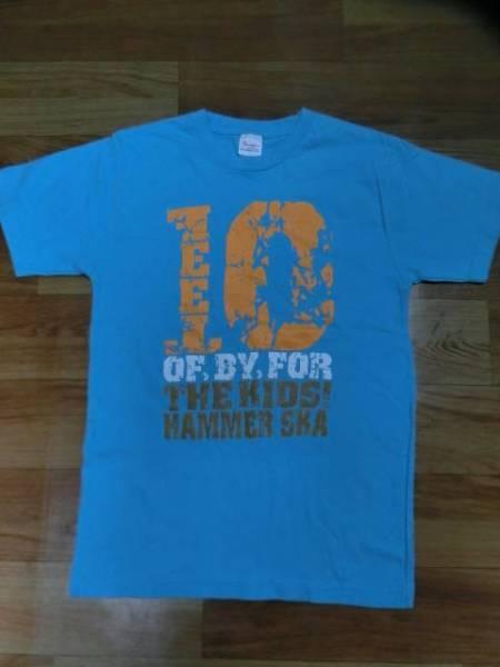 10-FEETテンフィート廃盤hammer ska TOUR 2010限定Tシャツ水色size160(XS)超美品pizzaofdeathピザオブデス京都大作戦of,by,for THE KIDS ライブグッズの画像