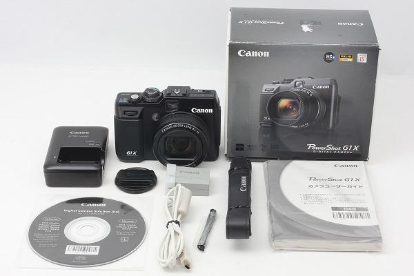 ◆超極上美品◆キャノン Canon PowerShot G1 X 付属品完備 元箱◇10799