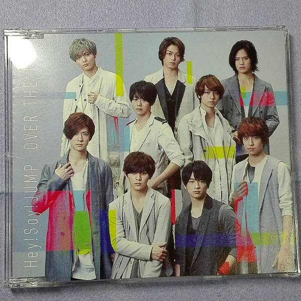 Hey!Say!JUMP CD「over the top 」通常盤 中古