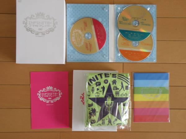 INFINITE DVD ゴマ粒プレイヤー 初回限定 K-POP アイドル ライブグッズの画像