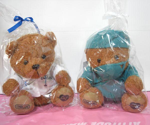 CNBLUE ファンミ 2017 Doctor-C 茶熊ぬいぐるみ クマ 白衣 & 手術 2種類セット