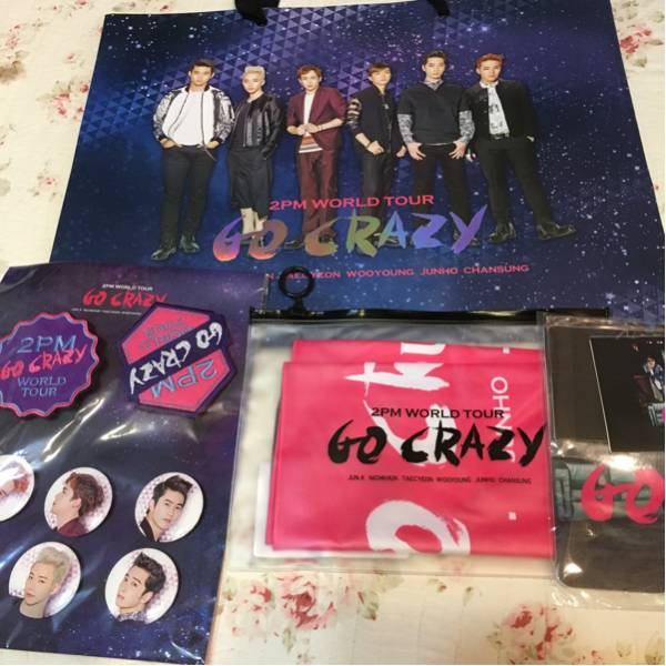 2pm GO CRAZY コンサートグッズ