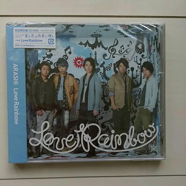 嵐 CD 未開封 送料込 ☆Love Rainbow☆ ライブグッズの画像