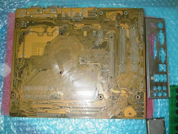 P5KPL-CM EPU Rev 2.01G (m-ATX, Intel G31, LGA775) 動作確認済_裏面