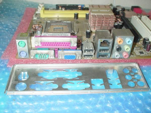 P5KPL-CM EPU Rev 2.01G (m-ATX, Intel G31, LGA775) 動作確認済_コネクタ周辺