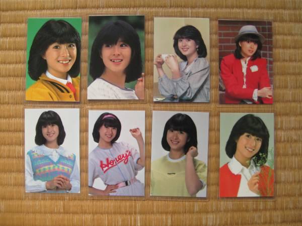 河合奈保子 ラミネートカード 8枚 美品