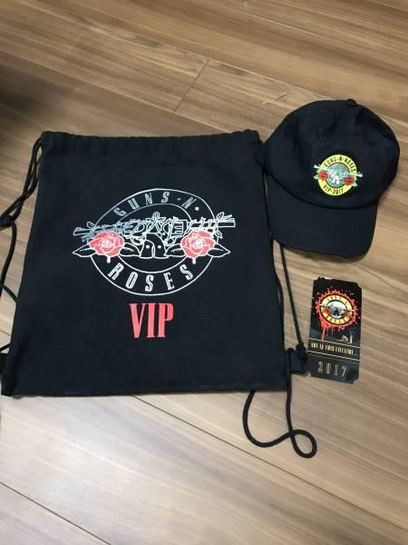 【1円スタート】送料込 Guns N' Roses ガンズ・アンド・ローゼズ VIP アップグレード 限定ギフト 3点セット 日本公演