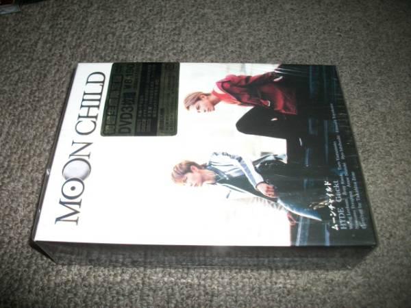 (HYDE Gackt) MOON CHILD 初回限定盤 3DVD ライブグッズの画像