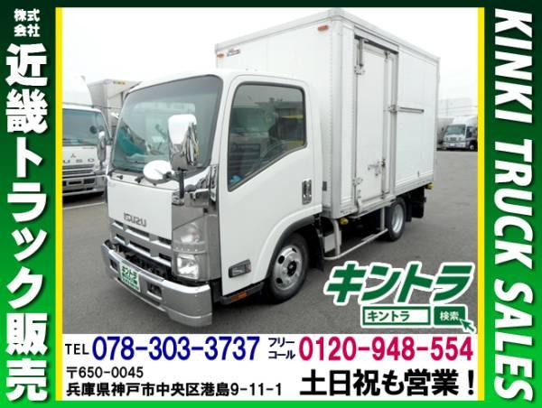 H19 いすゞ エルフ パネルバン サイド扉 ラッシング2段 ターボ車 #K9596_画像1