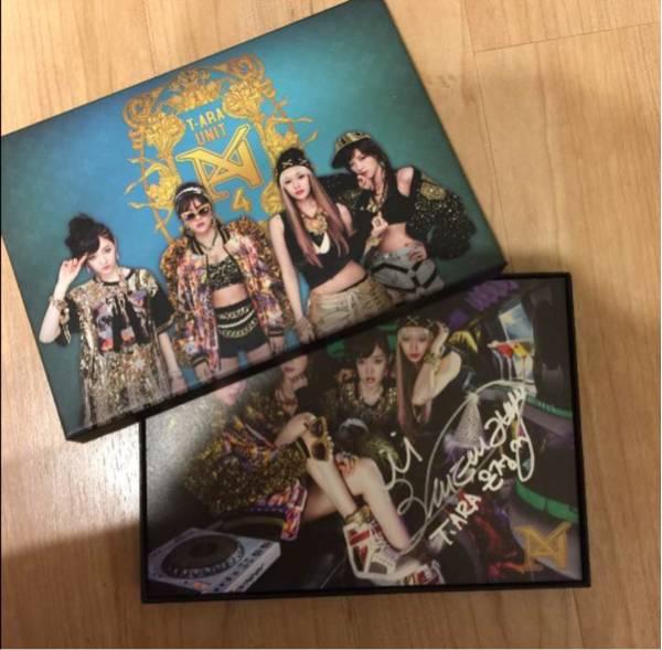 T-ara N4★ウンジョン★直筆サイン付きCD ライブグッズの画像