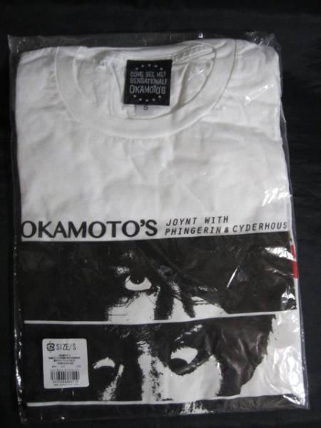 夏の ホラーTシャツ(白) SIZE:S OKAMOTO'S