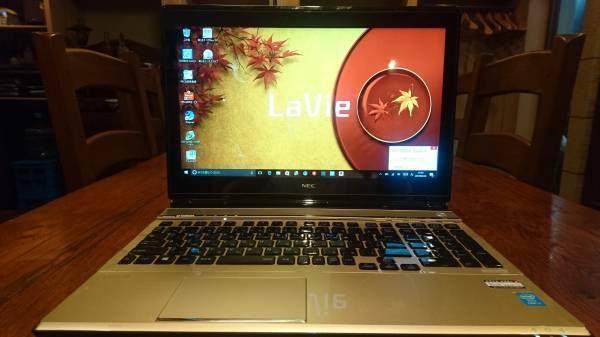 Lavie LL750/MS Core i7-4700QM 8G 新SSD240GB+HDD1TB BD タッチ office2016