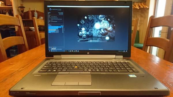 HP EliteBook 8770w Core i7-3820QM 16G SSD240GB+HDD1TB Quadro K4000M FHD BD office2016