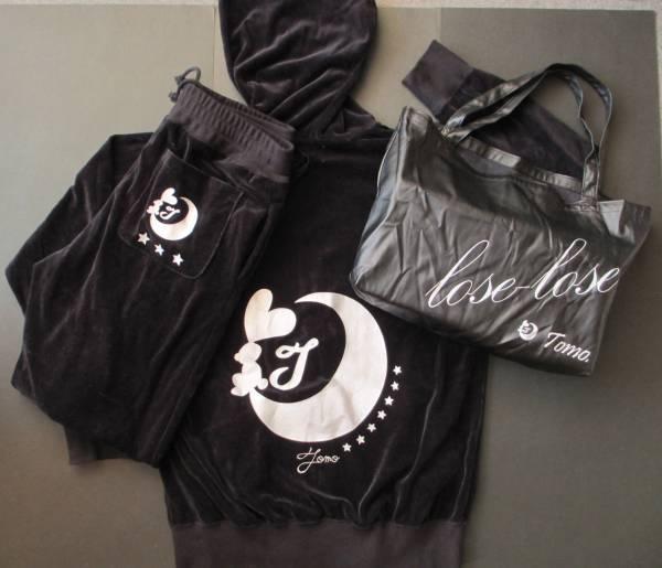 板野友美プロデュースオリジナル特製ベロアジャージ 黒Lサイズ 2012年10月限定発売品 レアモノです。