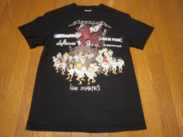 173-138/SUMMER SANITARIUM TOUR/サマーサニタリウムツアー/2003/Tシャツ/M/METALLICA/Limp Bizkit /LINKIN PARK/Deftones/Mudvayne