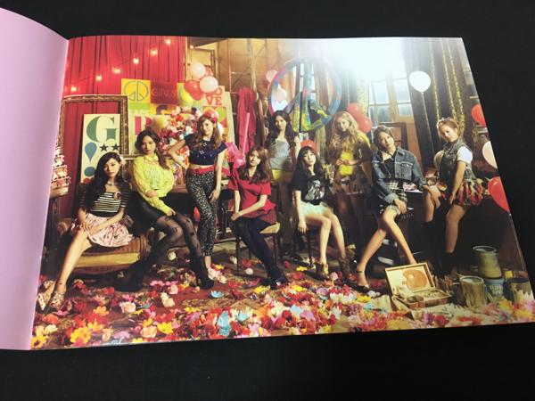 少女時代 CD DVD 3rdアルバム サードアルバム love&peace ラブ&ピース