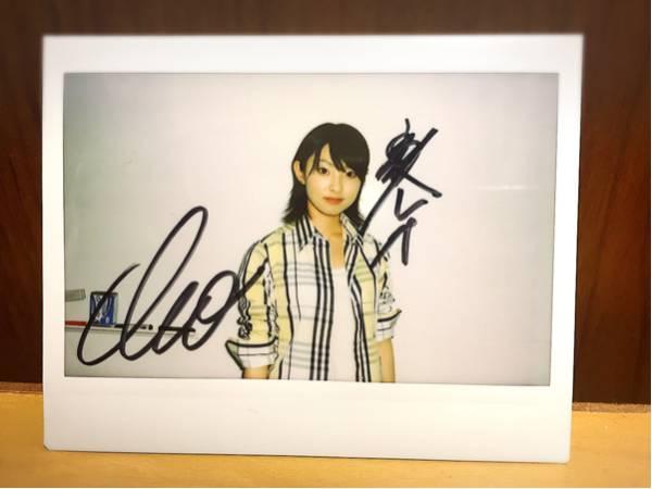 【希少】家入レオ インスタントカメラ自撮り写真直筆サイン入り ライブグッズの画像