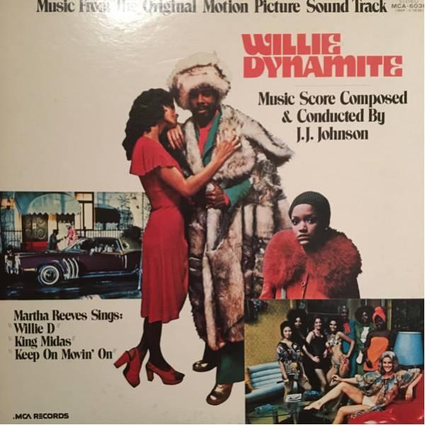 willie dynamite / j.j. johnson 日本盤 レア MURO