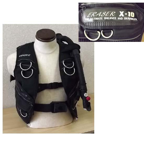 SAS/エスエーエス(サス) ERASER/イレイザー X-10 BCジャケット Sサイズ 札幌市 西岡店発_画像1