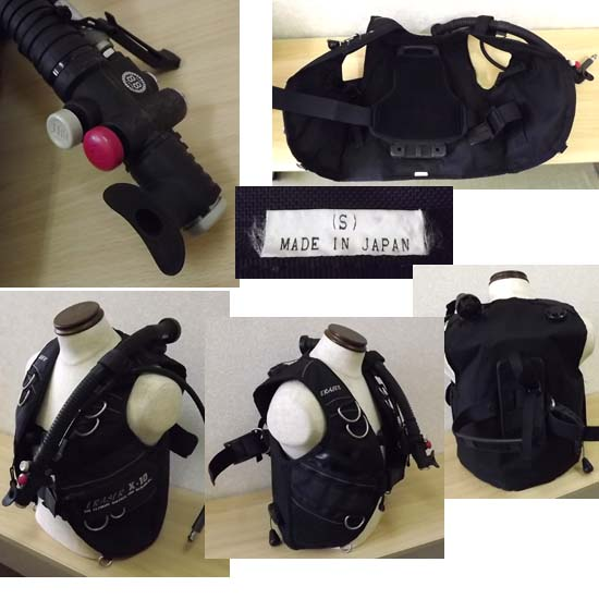 SAS/エスエーエス(サス) ERASER/イレイザー X-10 BCジャケット Sサイズ 札幌市 西岡店発_画像2