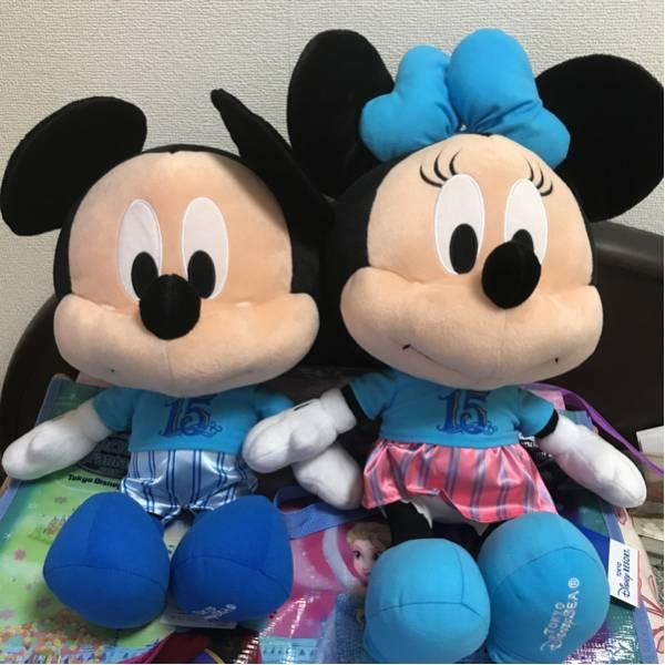 ディズニーシー 15th ミッキー&ミニー ぬいぐるみ ディズニーグッズの画像